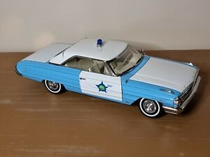 1964 Ford Galaxie 500 Police Car Sunstar USA Collectibles 1:18 Scale Model Car