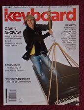 Keyboard Magazine Mar 2005 ~ Gavin DeGraw, Alesis Fusion, Thievery Corporation