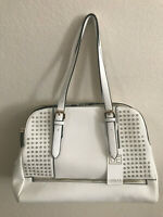New White Urban Expressions Handbag Vegan Leather Crossbody