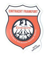 Eintracht Frankfurt Aufkleber Sticker Logo Bundesliga Fussball #325