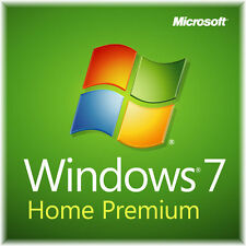 Windows 7 Home Premium mit  Lizenzkey und DVD  64 Bit  SP1  NEU