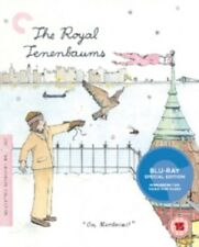The Royal Tenenbaums The Criterion Collection (Owen Wilson) New Region B Blu-ray