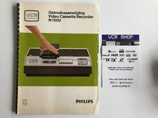 Manual: Philips N1500 Nederlands