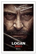 HUGH JACKMAN LOGAN SIGNED PHOTO PRINT AUTOGRAPH POSTER X-MEN WOLVERINE