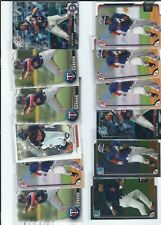 LOT OF  24  NICK GORDON   CARDS  ROOKIES MINNESOTA TWINS BOWMAN
