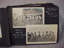 Antique Cobb Family Album Ty Cobb Jr Photo Military