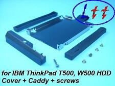 Mounting frame for IBM Thinkpad T500, W500 + Cover + Screws