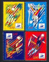France 1997 Football/World Cup/WC/Sports/Games/Animation 4v set (n32952a)