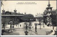 Évian les Bains France CPA ~1920/30 l'etablissement de la Source Cachat Terrasse