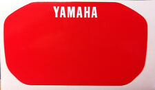 YAMAHA XT 600 Z TENERE 1VJ 86 Tabella R.  - adesivi/adhesives/stickers/decal