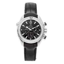 Omega Seamaster Planet Ocean Cronómetro Automático Acero Reloj Mujer