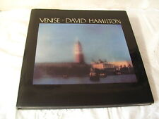 VENISE - DAVID HAMILTON - DEDICACE  - 1989