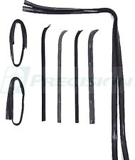 1973-1979 Ford Truck, 1978-1979 Ford Bronco, Door Window Weatherstrip seal Kit