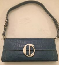 Charles David Teal Sydney Shoulder Hand Bag