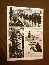 Stampa del 1942 Seconda guerra mondiale WW2 Camicie nere e aerosiluranti