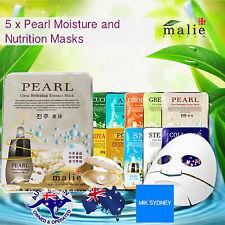 Pearl Facial Mask Sheet Skin Care Moisture Face Essence Mask Sheet Beauty Peel