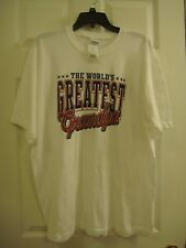 Men's Gildan The World's Greatest Grandpa Cotton Short Sleeve T- Shirt Size XL