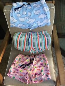 PETER ALEXANDER SLEEP SHORTS SIZE M 3 Pairs- Price Is For All 3 Together