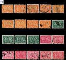 Lot #4 Jubilee  20 good stamps Canada used