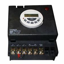 TORK DIGITAL TIME SWITCH POWER PANEL FOR POOL SPA LIGHTING 240V PEW104-M