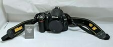 Nikon D3000 10.2 MP Digital SLR Camera - Black (Body Only) - 8539 Shutter Count