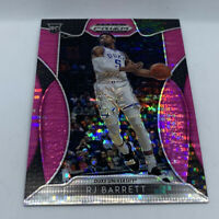 RJ BARRETT RC 2019-20 PANINI PRIZM DRAFT PICKS PINK SHIMMER #3NY KNICKS ROOKIE