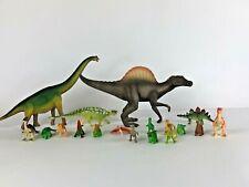 Schleich Dinosaur Spinosaurus Brachiosaurus Carnegie Safari Dinosaurs Lot