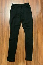 ISABEL MARANT Skinny Ankle Zip Stretch Jersey Pant in Black (Size 0)