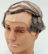 VECCHIO PETTINE IN PARRUCCA CALVO MAN Granded Geek HEAD FANCY DRESS