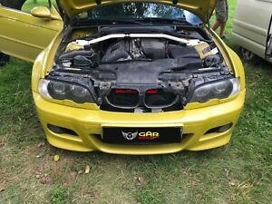 BMW E46 AIR SCOOP, RAM AIR INTAKE, inTake+ GARmotorsport