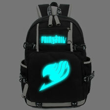 FAIRY TAIL  Luminous Backpack Noctilucence Packsack laptop  Book Travel Bag