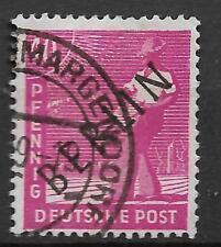 Duitsland Berlijn Opdruk Berlin in zwart Michel 12