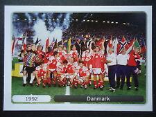 Panini 530 Danmark Dänemark 1992 EM 2012 Poland - Ukraine