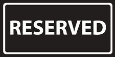 Reserved Beach Towel