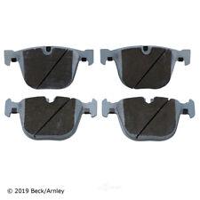 Disc Brake Pad Set Rear Beck/Arnley 085-2038