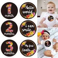 Baby Monthly Milestone Warm Blanket Photography Props Backdrop Newborn Infant