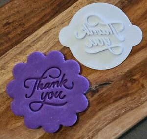 Thank You Cookie Cupcake Stamp Embosser