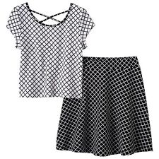 Girls Pinky Los Angeles Sleeveless Top & Skirt Set - Size 10 NWT