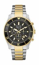 Bulova Marine Star Men's Refurbished 98B249 Chronograph Quartz Two Tone Watch