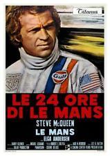 Le Mans  **POSTER**  Steve McQueen Car Racing Ferrari 512  Porsche 911 908 917