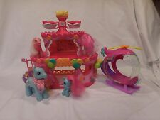 My Little Pony Ponyville Pinkie Pie's Roller Skate Party Cake Plus Helicopter