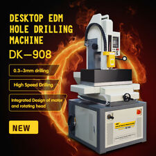 Us Delivery Fast-Sparking Edm Wire Cutting Machine Dk-908 0.3-3mm Hole Popper
