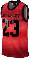 Nike Air Jordan 1985 Sleeveless Red Mesh 23 Jersey Tank NWT Sz L 642477 687