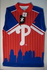 Philadelphia Phillies MLB Klew Genuine Merchandise Polo Shirt Men's Medium NWT