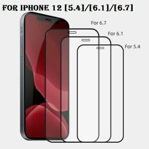 Screen Protector for iPhone 11 XS PRO 12 MAX 9H Curved FULL COVER TEMPERED GLASS