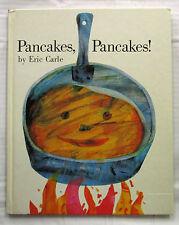 Pancakes Pancakes Eric Carle 1st UK Ed Hardback 1970 Very Good Condition  RARE