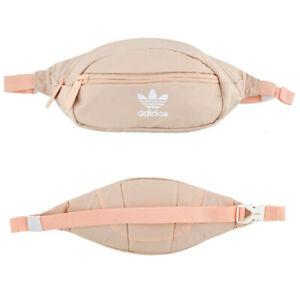 Adidas Originals National Waist Bag / Fanny Pack - Ash Grey Blue or Blush Pink