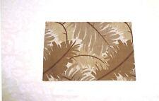 PLACEMATS - 4 Pcs. TLS979001 - HANDMADE - Tropical Palm Leaf - Earth Tones