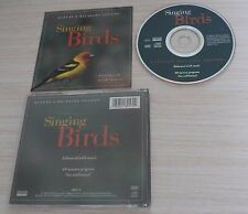 CD ALBUM SINGING BIRDS 60 MINUTES NATURE'S RELAXING SOUNDS 1996