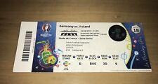 Sammler Used Ticket #18 Deutschland Polen Germany Poland UEFA EURO